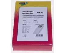 Fileterclean Universal Uk10 Dammsugarpåse