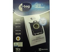 Electrolux S-Bag Classic Long Performance Mega-Pack 12 St  9001684811