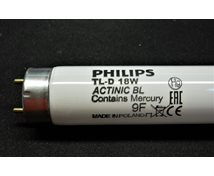 Philips Actinic Bl Tl-D 18W/10  T8  28X595mm Flugfångare