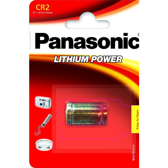 Panasonic 3V Cr2 Lithiumbatteri